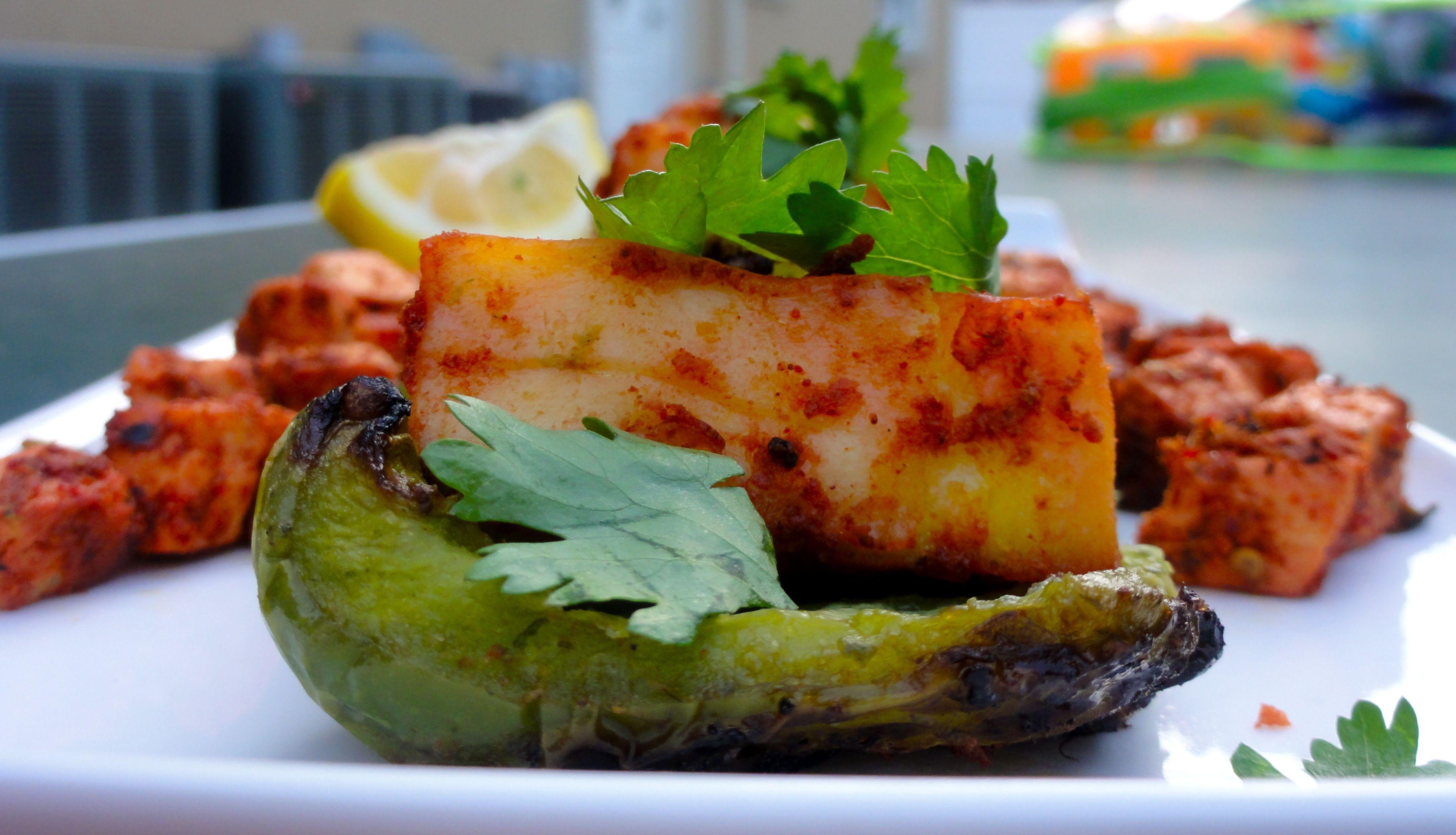 Indian BBQ: Tandoori Paneer & Tofu Kebobs | Chef Priyanka