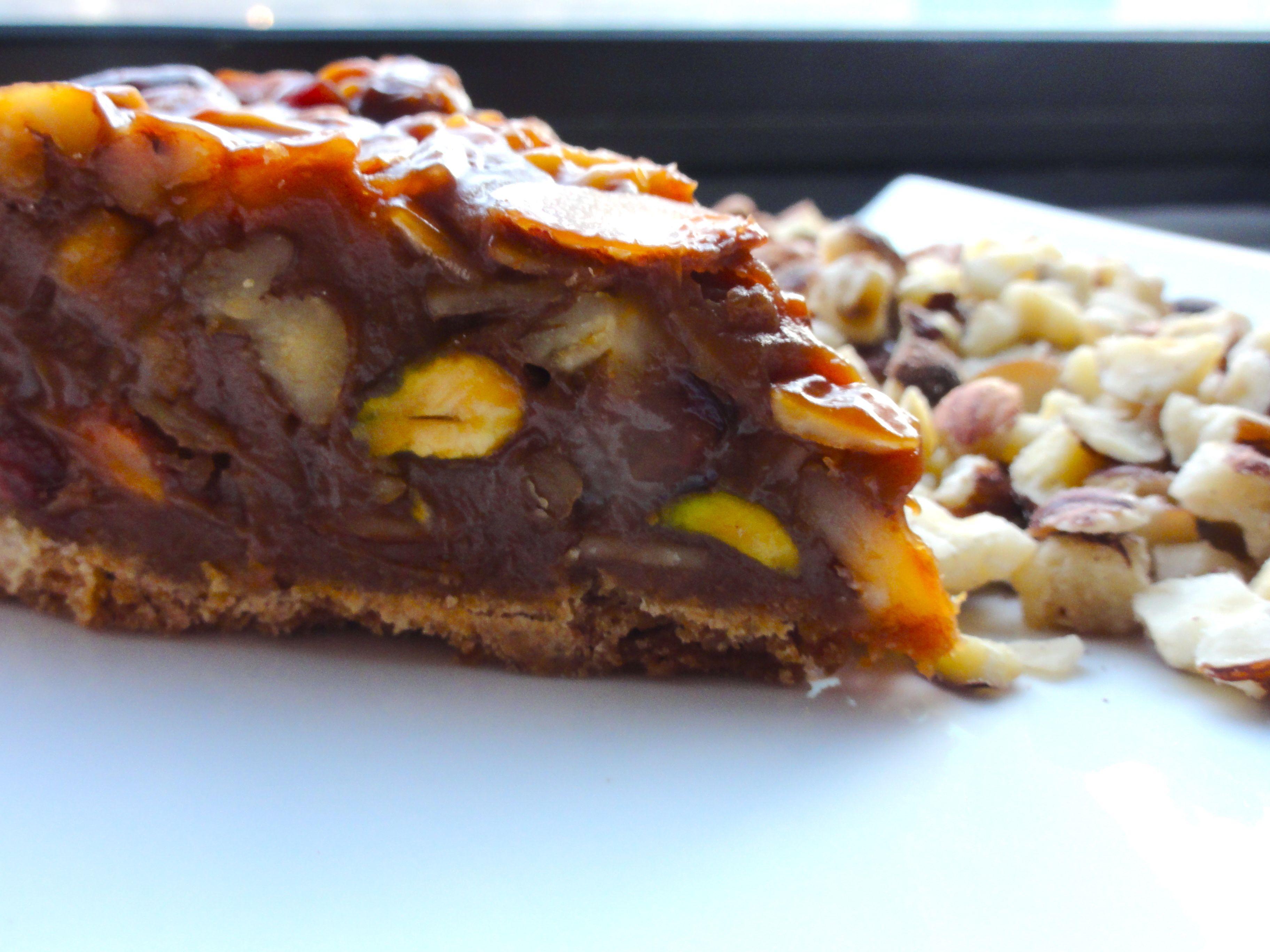 Ooey Gooey Caramel Nut Tart | Chef Priyanka