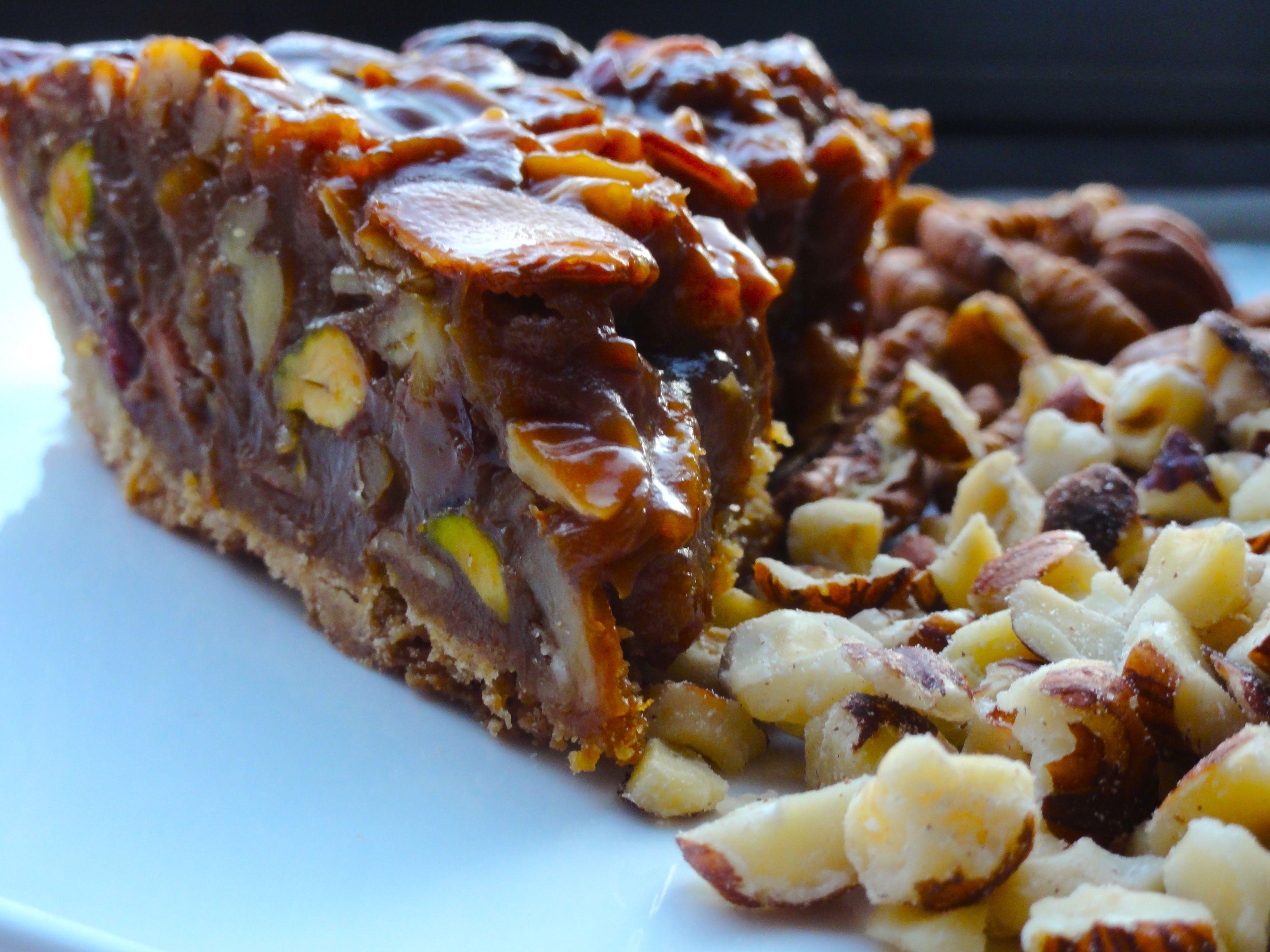Ooey Gooey Caramel Nut Tart – Chef Priyanka